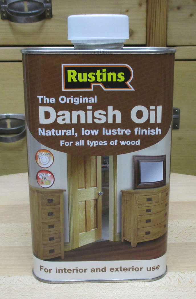 Original Danish Oil von Rustins